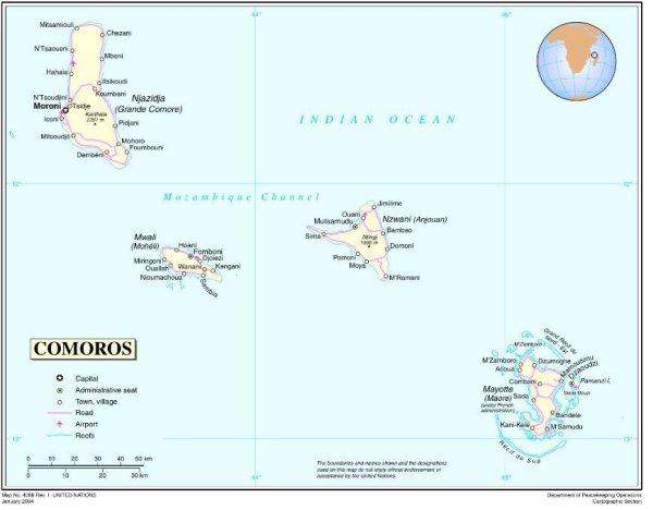 Front Républicain pour la Sauvegarde De l'Unité Nationale, Section Mayotte.