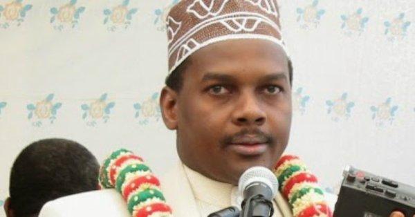Conférence de presse du président d'ANJOUAN MOHAMED BACAR LE 1er  DECEMBRE 2007