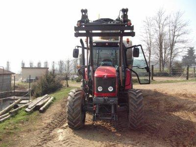 les premier jour du new tracteur