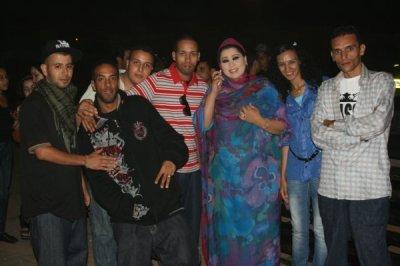 Dj anyos .Rass Derb . Saida Chraf  @u  Festival Tantan