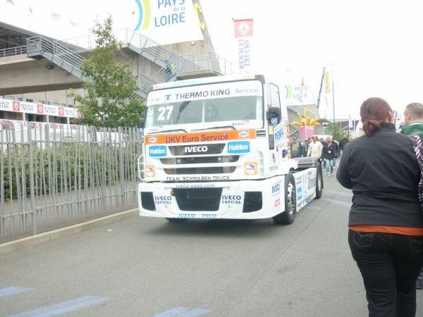 camion de course IVECO