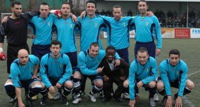 Les 11 de l'équipe.(RUSAS)