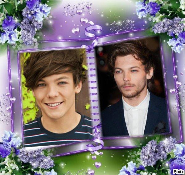 Louis Avant  et Après