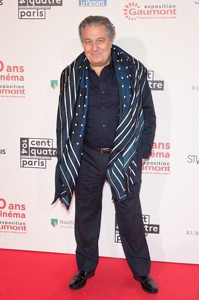 Christian Clavier pour les 120 Ans De Cinema : Gaumont, Depuis Que Le Cinema Existe' (13 avril 2015)