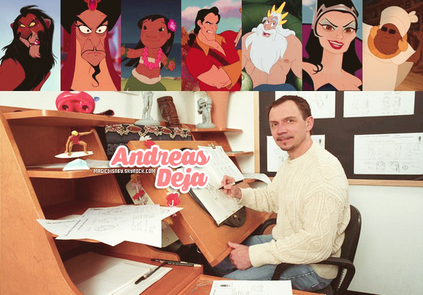 Andreas Deja - Animateur ● ● ● ● ● ● ● ● ● ● ● ● ● ● ● ● ● ● ● ● ● ● ● ● ● ● ● ● ● ● ● ● ● ● ● ●