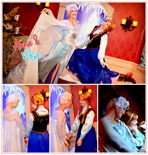 Anna & Elsa - Disneyland ● ● ● ● ● ● ● ● ● ● ● ● ● ● ● ● ● ● ● ● ● ● ● ● ● ● ● ● ● ● ● ● ● ● ● ●