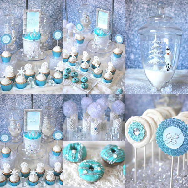 Sweet Table signé Frozen - La Reine des Neiges ● ● ● ● ● ● ● ● ● ● ● ● ● ● ● ● ● ● ● ● ● ● ● ● ● ● ● ● ● ● ● ● ● ● ● ●