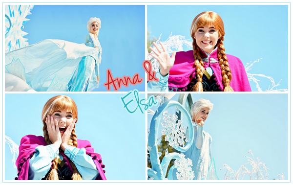 Anna & Elsa sur la Frozen Pré-Parade - Disneyland ● ● ● ● ● ● ● ● ● ● ● ● ● ● ● ● ● ● ● ● ● ● ● ● ● ● ● ● ● ● ● ● ● ● ● ●