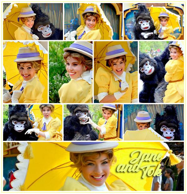 Jane Porter & Tok - Disneyland ● ● ● ● ● ● ● ● ● ● ● ● ● ● ● ● ● ● ● ● ● ● ● ● ● ● ● ● ● ● ● ● ● ● ● ●