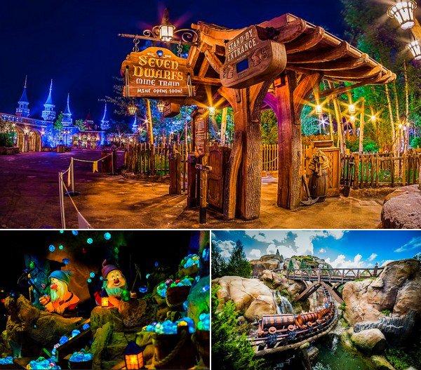 Seven Dwarf's Mine Train, Fantasyland - Magic Kingdom ● ● ● ● ● ● ● ● ● ● ● ● ● ● ● ● ● ● ● ● ● ● ● ● ● ● ● ● ● ● ● ● ● ● ● ●