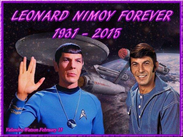 Repose en paix, Leonard Nimoy....