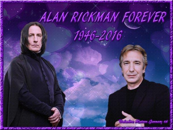 RIP, Alan Rickman...