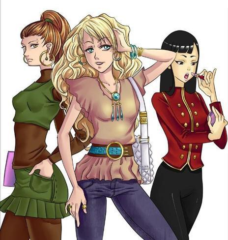 Présentation des personnages: Ambre Charlotte & Li!