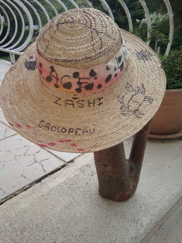 Mon chapeau de paille