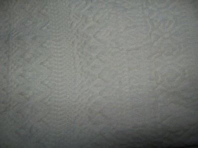 Legging blanc cassé a motifs. 5 cerises.