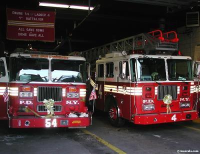 les pompier de ny
