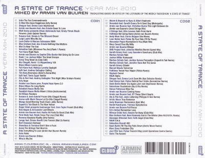 A State Of Trance-Year Mix 2010-Mixé par Armin Van Buuren [Style: Electro Trance- Vocal Trance- Uplifting Trance]