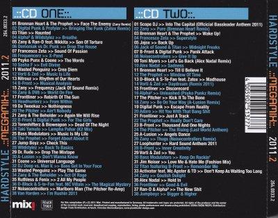 Hardstyle Megamix 2011-2 [Style: Hardstyle]