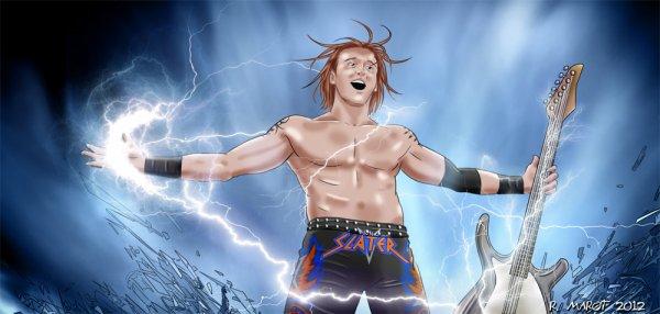 Page Facebook et Magazine de la WWE