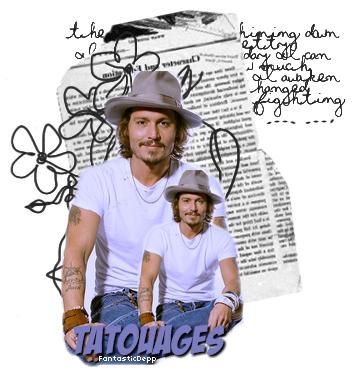 FantasticDeppSes tatouages