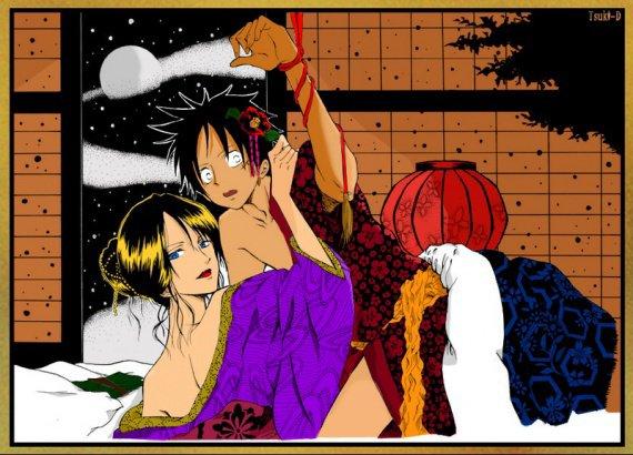 Luffy X Robin