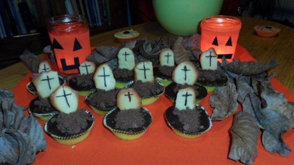 Cupcake d'Halloween ! <3