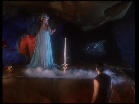d'autres photos de la fee du lac de cristal avec d'autres personnages