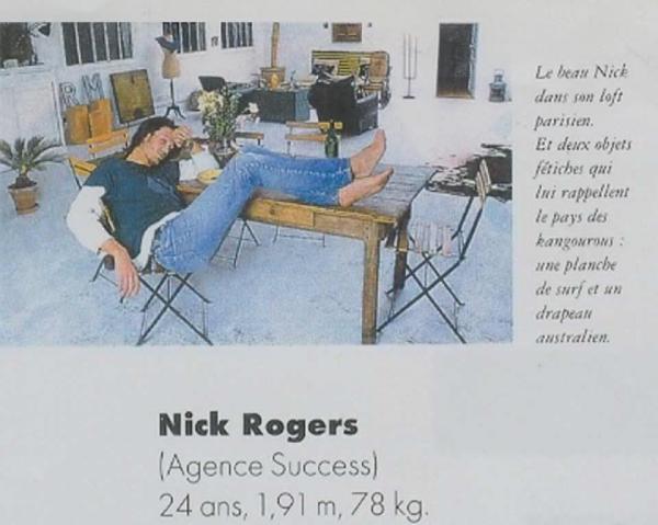 nicholas rogers dans les magazines