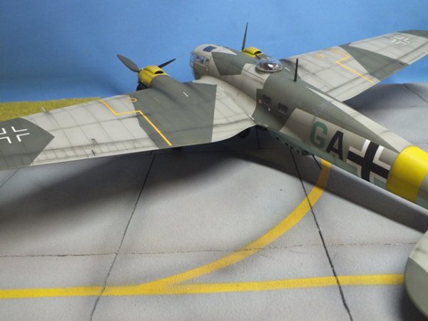 maquette He111