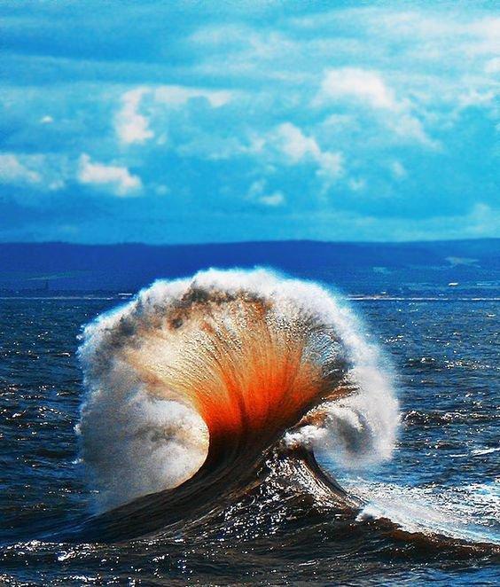 L'art des vagues