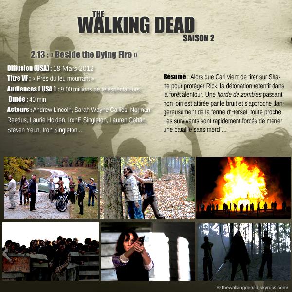 """Saison 2, Episode 13  """"  Beside the Dying Fire  """"     [Regarder cette épisode]"""