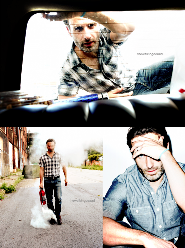 Des photoshoots d'Andrew Lincoln!