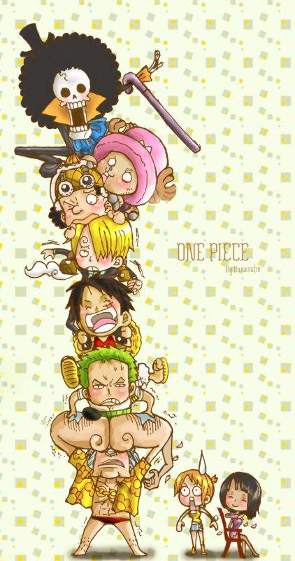 Luffy et son équipage.