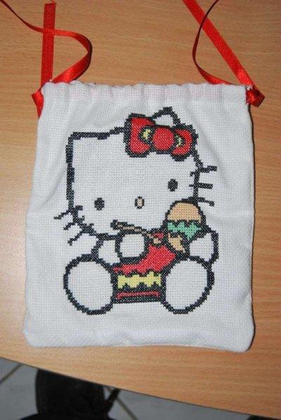 une petite Hello Kitty