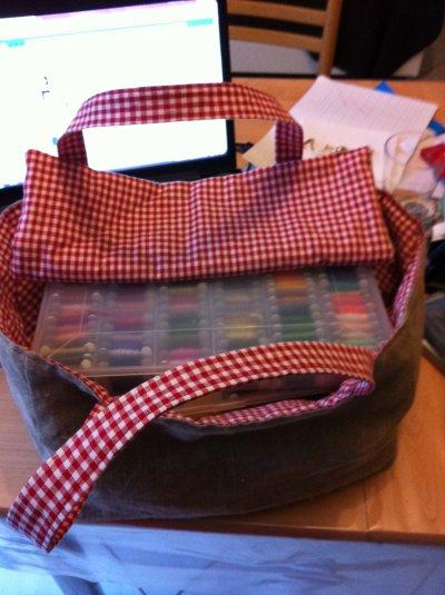 mon sac pour mes boîtes à fils