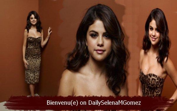 Bienvenu(e) on DailySelenaMGomez ta nouvelle source sur Selena Gomez
