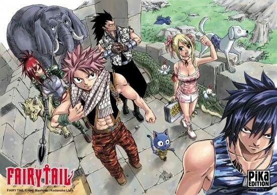 Présentation Mangas : FAIRY TAIL !
