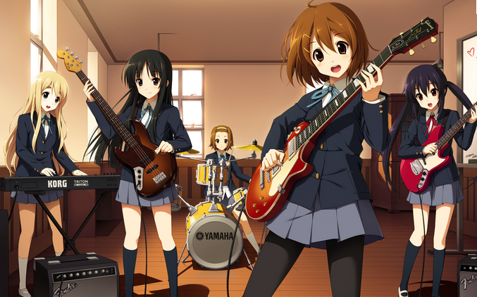 Presentation manga : K-on !
