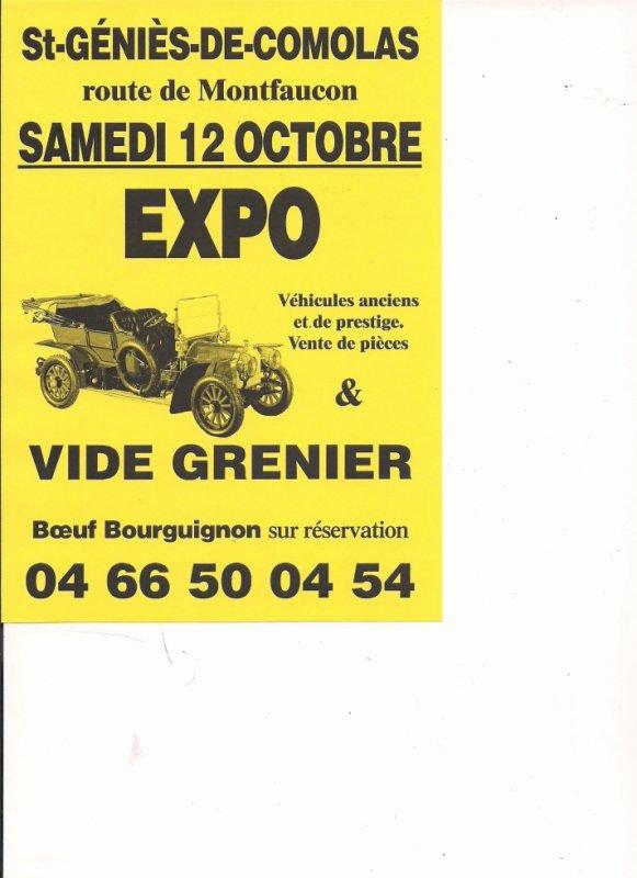 Bourse Expo véhicules anciens, de prestige et de rallye
