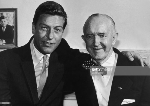 Photo coup de coeur : Dick Van Dyke & and Stan Laurel