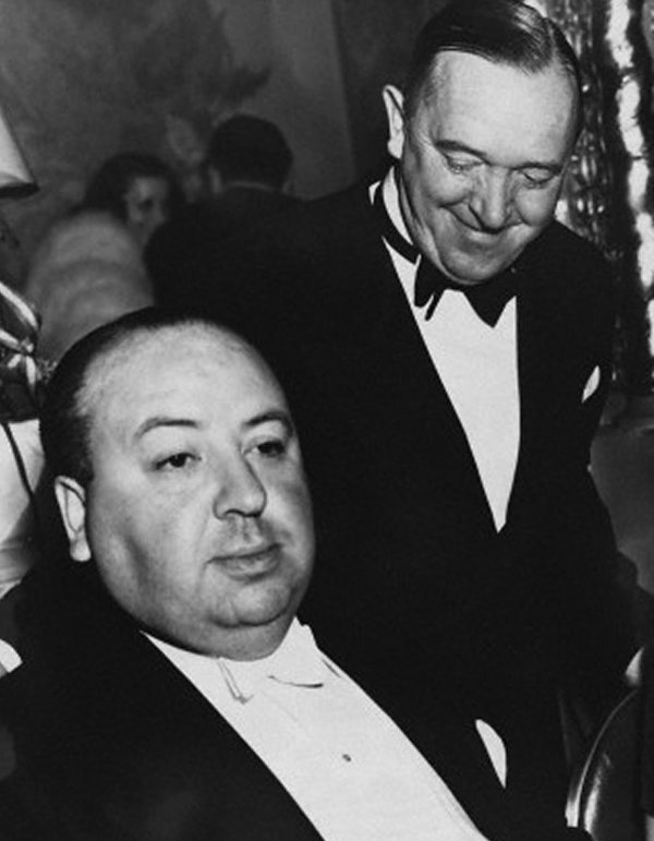 La photo coup de coeur : Alfred Hitchcock and Stan Laurel