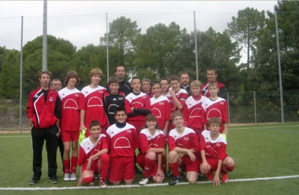 l equipe de foot de salernes