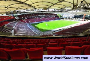 gottlieb daimler stadion stuttgart vfb stuttgart les stades de foot du plus petit au plus. Black Bedroom Furniture Sets. Home Design Ideas