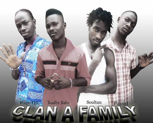 "CLAN ""A"" FAMILY / -  bamako by night  - (2013)"