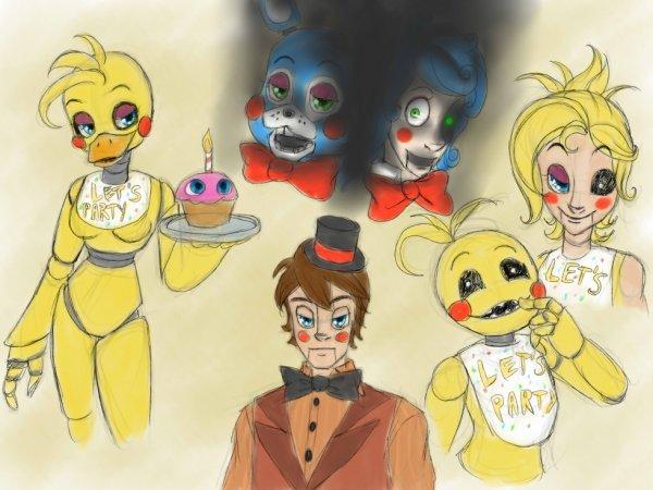 Five nigths at Freddy' 2s