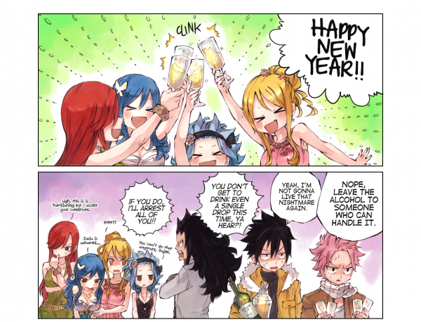 Traduction Doujinshi Happy New Year - Partie 1