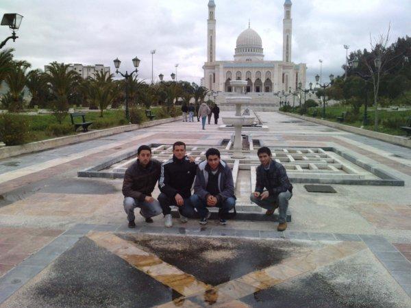 nous à la mosquée de Emir à constantine