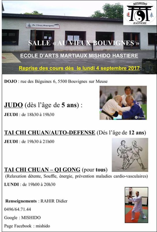 SAISON 2017-2018 DOJO BOUVIGNES/MEUSE (DINANT)