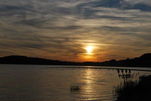 Dernière pêche de nuit au lac de Panecière !!!