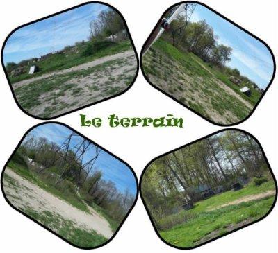 Le terrain